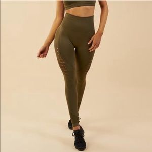 Gymshark High Waisted Seamless Energy Leggings XS